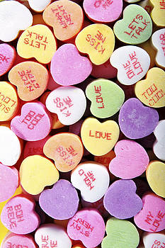 Valentines Sweetheart Candy by Norman Pogson