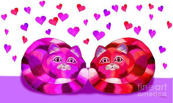 Nick Gustafson - Valentines Cats