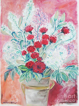 Valentine's Day Flowers by Barbara Anna Knauf