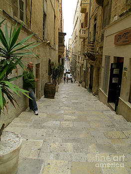 Valetta Streets by Terri Johnson