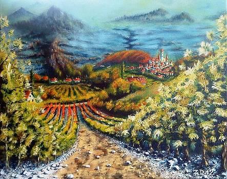 Valley by Danas Zymonas