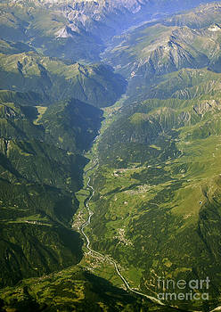 Valley in the Alps by Lilianna Sokolowska