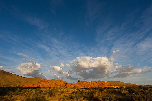 Valley Of Fire Cloud Formation by Teresa Hunt