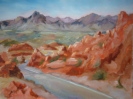 Valley of Fire by Luz Perez