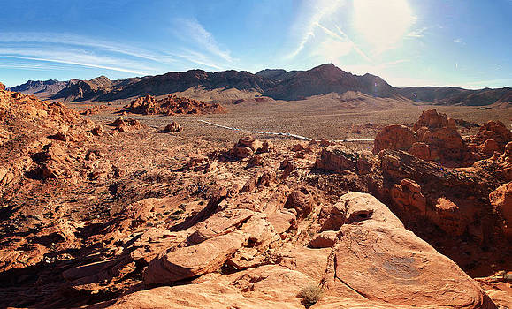 Valley of Fire by Philip G
