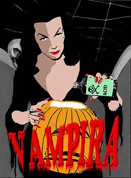 Vampira Pumpkin by Jack Joya