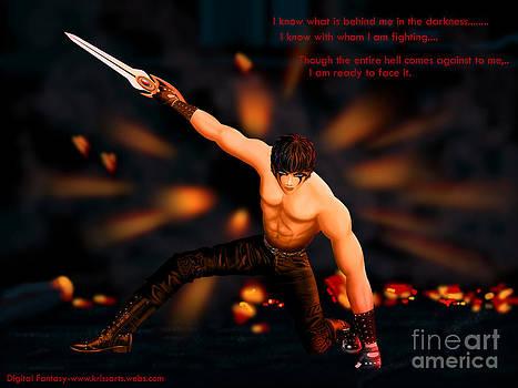 Vampire Fighter by Kriss Orayan