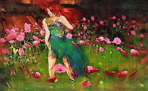 Van Gogh Style Art Print by J Nance