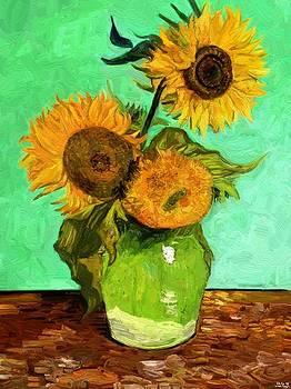 Van Gogh with an iPad by Edward Ofosu