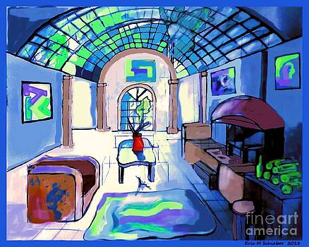 Van Goghs Living Room by Eric  Schiabor