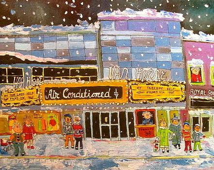 Van Horne Theatre 1965 Montreal Memories by Michael Litvack