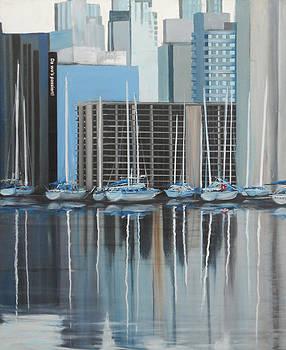 Vancouver diptic 1 by Angel Ortiz