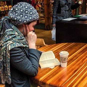 #vancouver #reading #coffee  #rx1 by Ron Greer