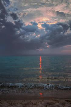 Van's Beach Sunset by Megan Noble