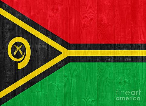 Vanuatu flag by Luis Alvarenga