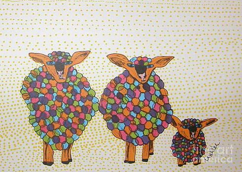 Variegated Yarn by Marcia Weller-Wenbert