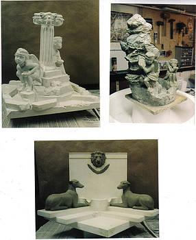 Various Fountain Masters by Patrick RANKIN