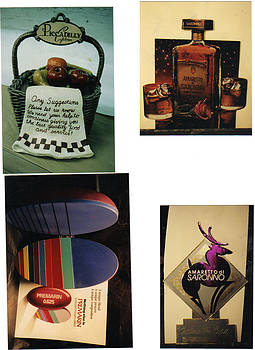 Various promotional items for Advertising field by Patrick RANKIN