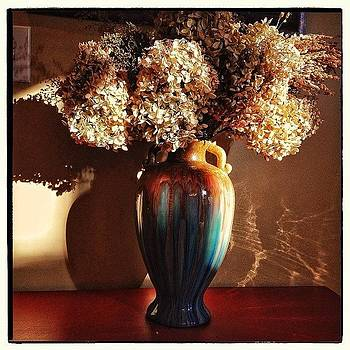 Vase And Flowers Still Life by Paul Cutright