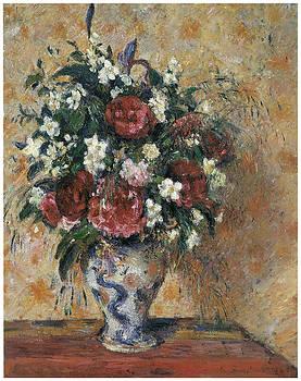 Camille Pissarro - Vase of Flowers