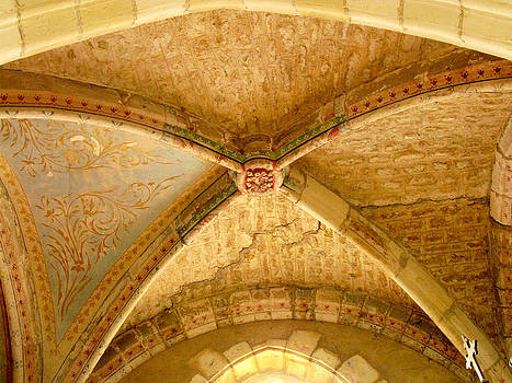 Randi Kuhne - Vaulted Ceiling in Collegiate Church of Saint Sylvain Levroux France