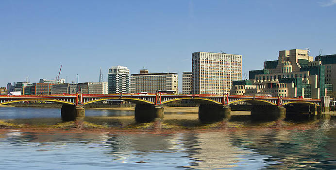 David French - Vauxhall  Bridge Thames London