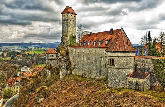 Veldenstein Castle Bavaria Germany by David Davies