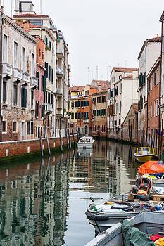 Venetian Canal by Francesco Rizzato
