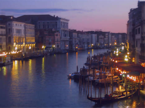 Venetian Evening by Betsy Moran