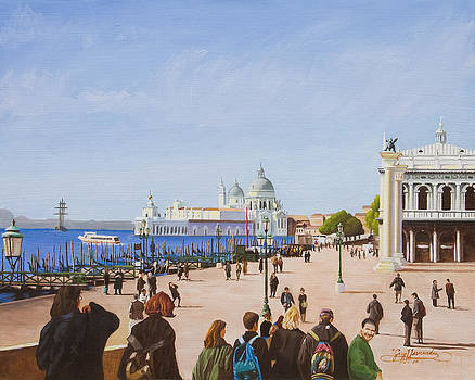 Venetian Holiday by Gary  Hernandez