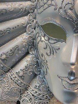 Venetian Mask I by Kelly Borsheim