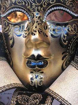 Venetian Mask II by Kelly Borsheim