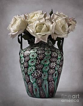 Venetian murrine vase by Barbara Corvino
