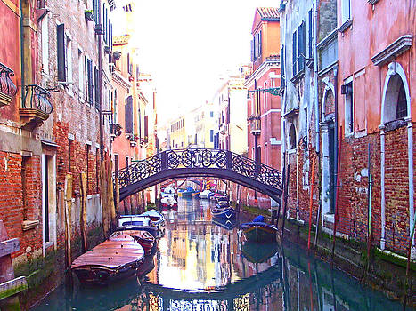 Venetian Reflections by Christiane Kingsley
