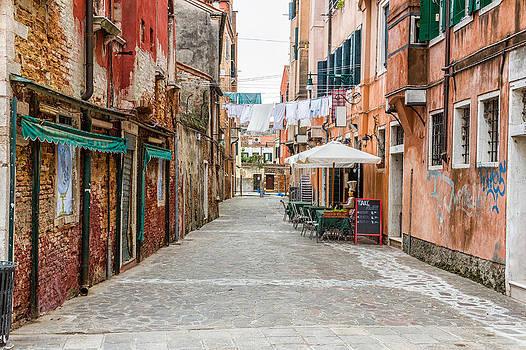 Venetian Street by Francesco Rizzato
