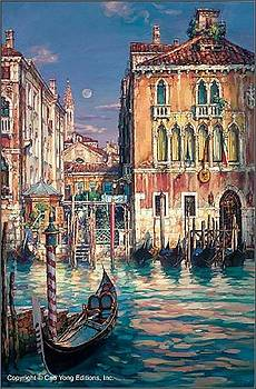 Venetian Sunset by Cao Yong