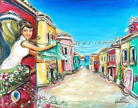 Venetian Sunshine by Jennifer Treece