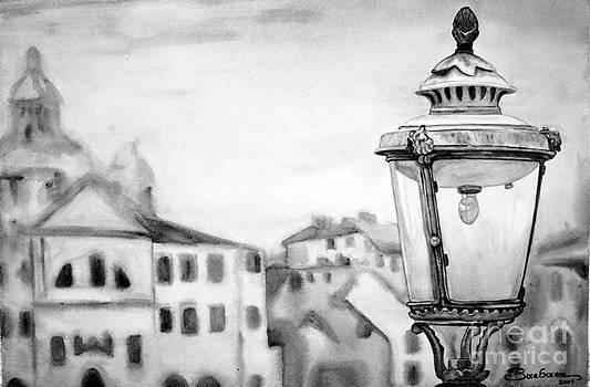 Venezia Black and White by Barbara Pelizzoli