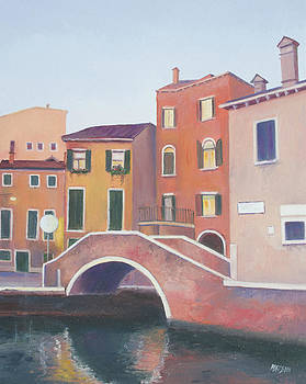 Jan Matson - Venice architecture early morning