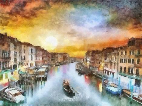 Venice at Dusk by Patrick OHare
