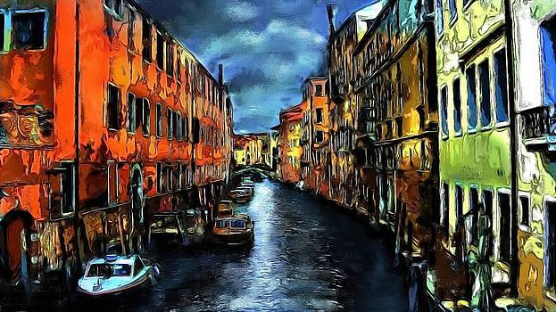 Venice at Night by Cary Shapiro