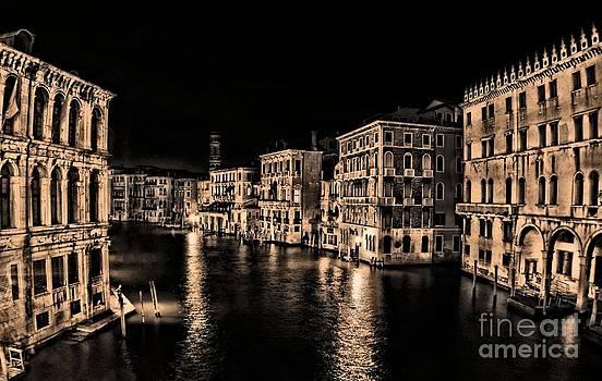 Venice at Night by Matthew Naiden