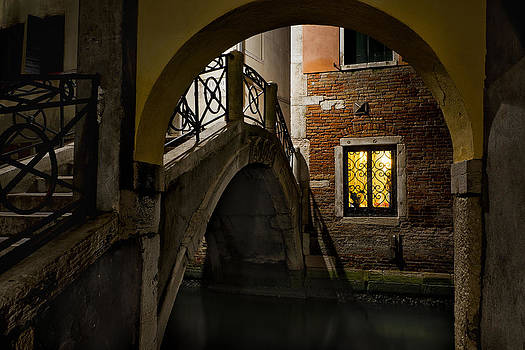 Venice at Night1 by Marion Galt