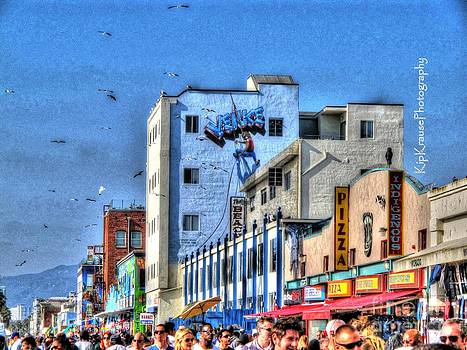 Venice Beach Boardwalk by Kip Krause