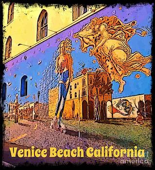 John Malone - Venice Beach Posterized