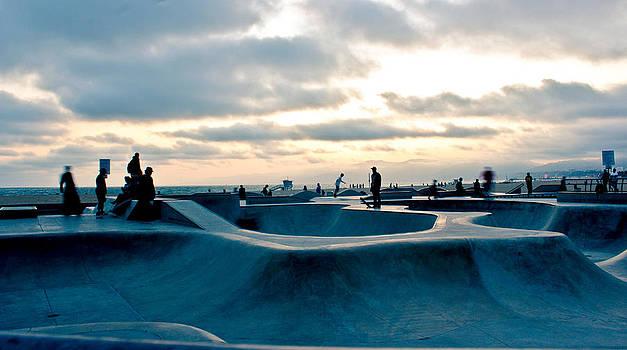Venice Beach Skate Park by Rollie Robles