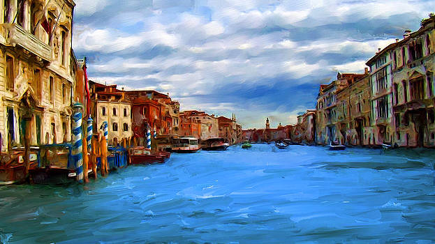 Venice Blue by Cary Shapiro