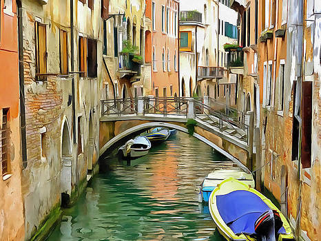Venice Bridge by Bishopston Fine Art