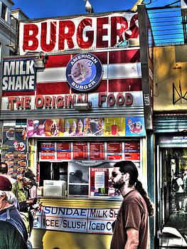 Venice Burger by Kip Krause