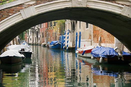 Silvia Bruno - Venice canal boat